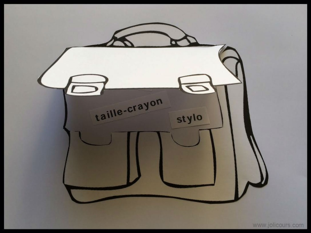 Archives des coloriage le blog de jolicours - Image d un cartable ...