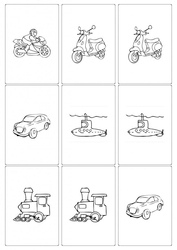 Créer un jeu de mémory à colorier - Le blog de Jolicours.