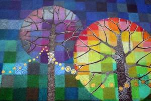 pour peindre la manire de loretta grayson nous vous invitons tlcharger un arbre nu de jolicours puis en suivant les modles de la peintre - Couleurs Chaudes Et Froides En Peinture