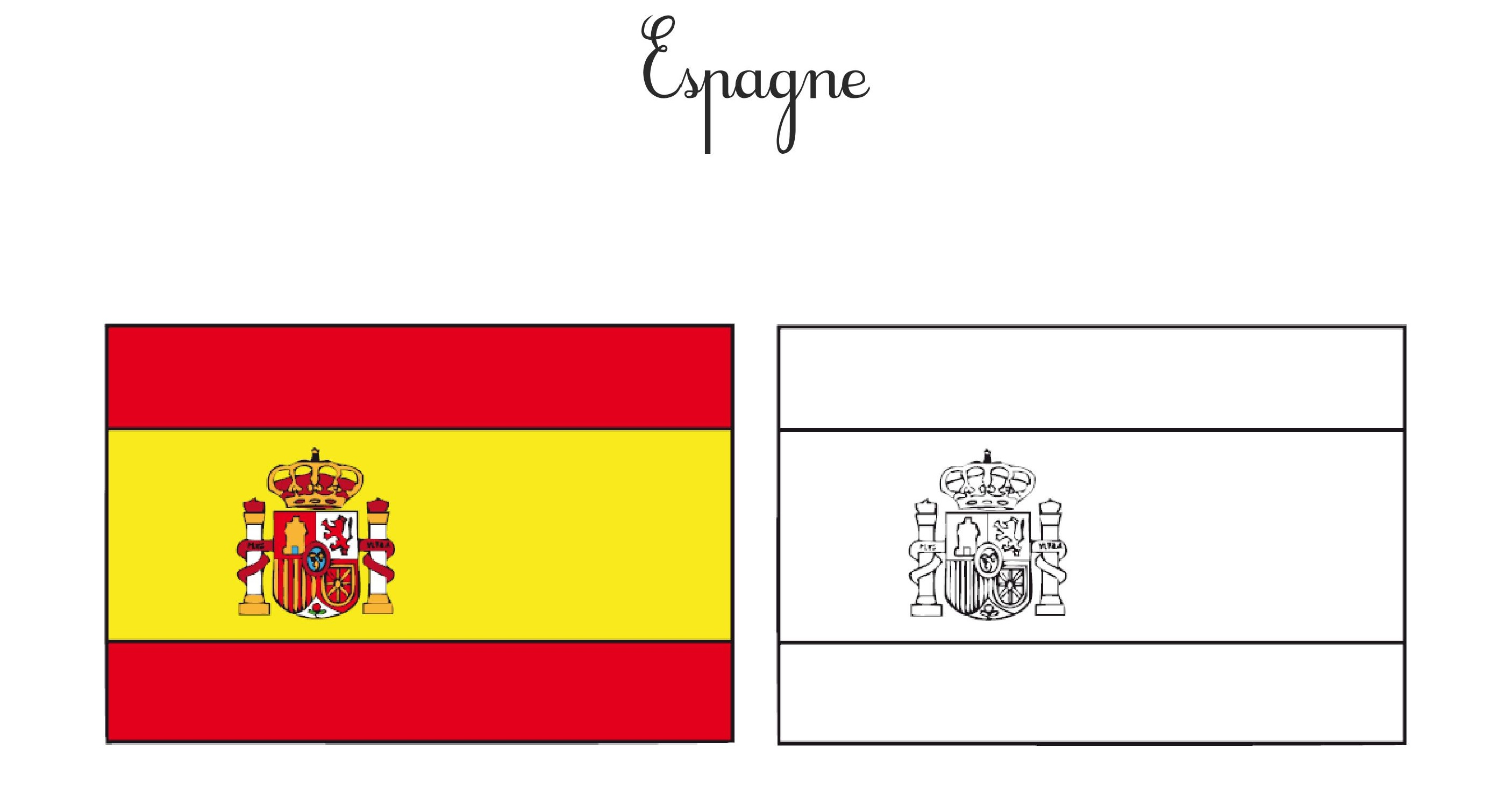 JOLICOURS drapeau Espagne