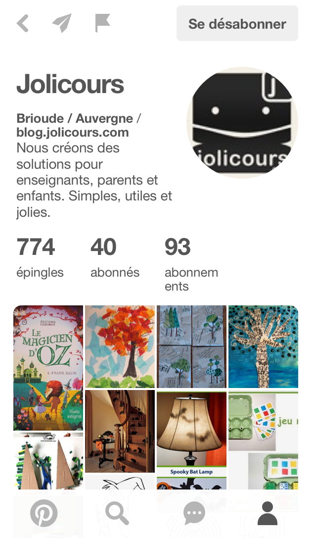 Pinterest - Jolicours - 2016