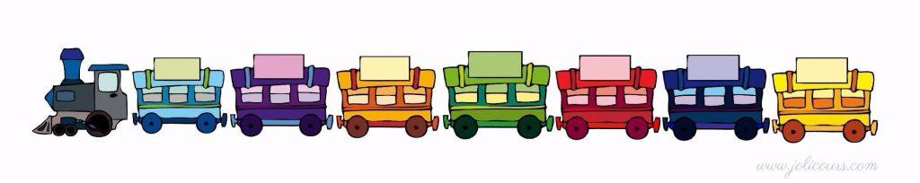 Savoir faire le blog de jolicours - Dessin train et wagon ...